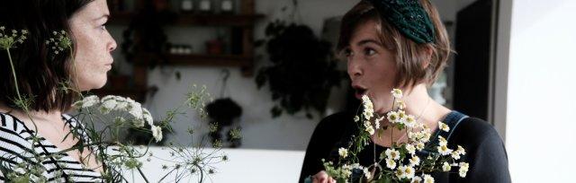 Autumn vase arrangement workshop