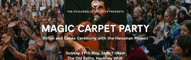Magic Carpet Party: Full Moon Dance Cacao Kirtan