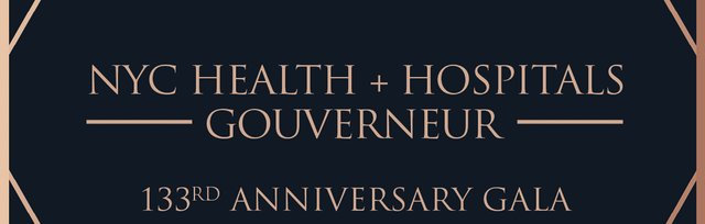 NYC Health + Hospitals   Gouverneur 133nd Anniversary Gala