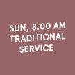 8.00 AM Sun Traditional Service (18 Apr 2021) image