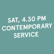 4.30 PM Sat Contemporary Service (24 Apr 2021) image