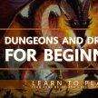 Dungeons and Dragons for Beginners; 5th edition image