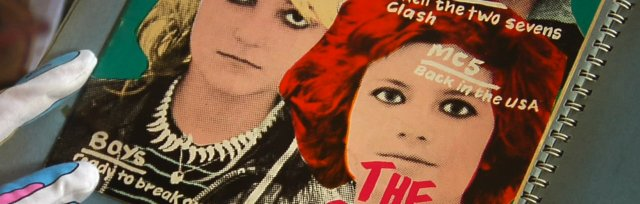 HERE TO BE HEARD : THE STORY OF THE SLITS - PUNK GRAPHICS