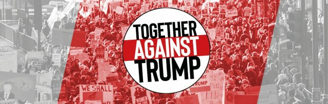 Bristol Coaches: Together Against Trump national demonstration