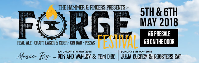 FORGE FESTIVAL @ The Hammer & Pincers