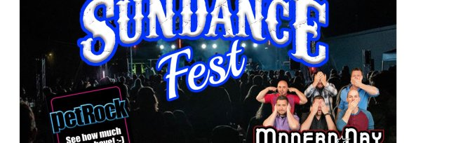SUNDANCE FEST DAY ONE with MODERN DAY ROMEOS & PET ROCK - OUTDOOR FEST STAGE