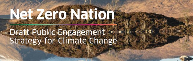 """Information Session on the Scottish Government's """"Net Zero Nation"""" Consultation"""