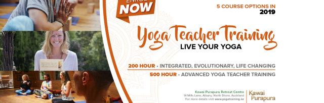 200 hour Yoga Teacher Training (January 4-22 18 Day Intensive Course)