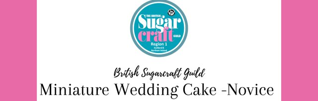 Competition Miniature Wedding Cake - Novice