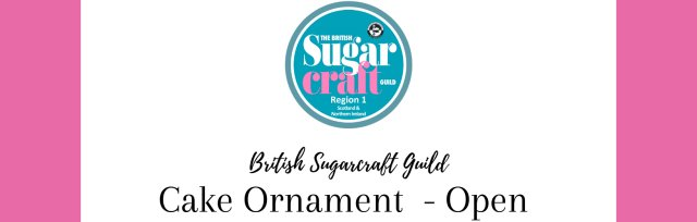 Competition Cake Ornament - Open