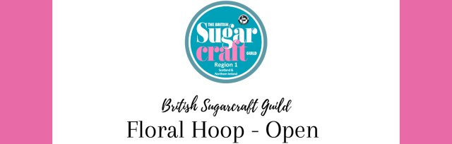 Competition Floral Hoop - Open