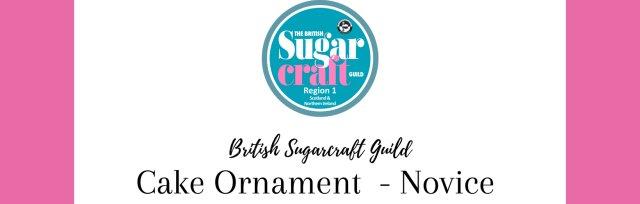 Competition Cake Ornament - Novice