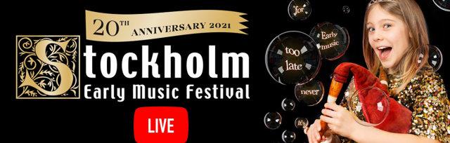 Festival Pass - Stockholm Early Music Festival 2021 Live stream
