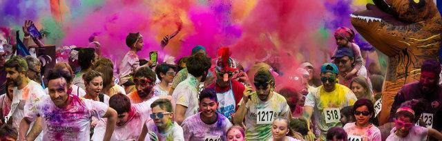 The Crazy Run - La folle corsa colorata