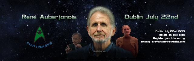 Star Trek Éire presents René Auberjonois