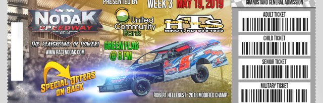 May 19th - Week 3 - Harry's Tire Service/United Community Bank