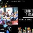 Drink Tea & Draw Dublin: Paint A Mandala Canvas image