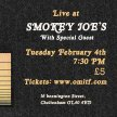 Smokey Joe's presents a night of Americana with Our Man In The Field image
