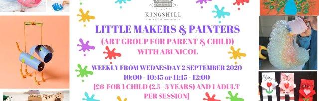 Little Makers & Painters - Parent and Child Art Workshop