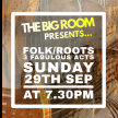 The Big Room - Folk and Roots - Wirral Arts Festival Edition image