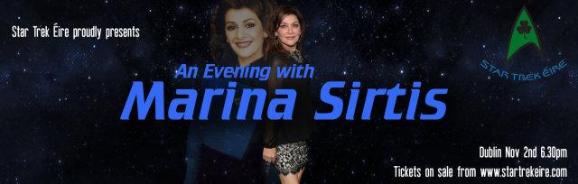 An Evening with Marina Sirtis