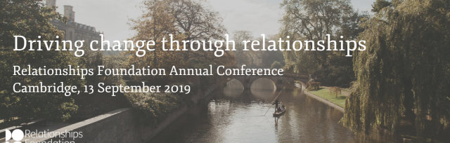 Relationships Foundation Annual Conference 2019