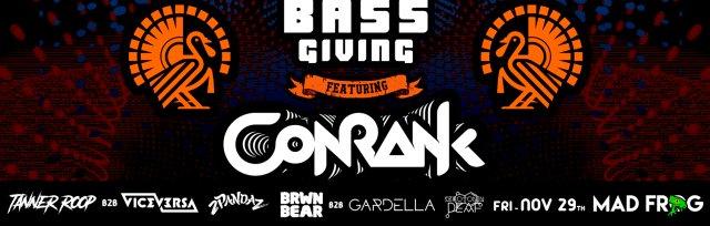 Bassgiving w/ CONRANK
