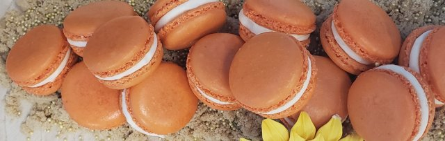 Autumn French Macarons,                                               Instructor:  Artist & Chocolatier Grace Huertas