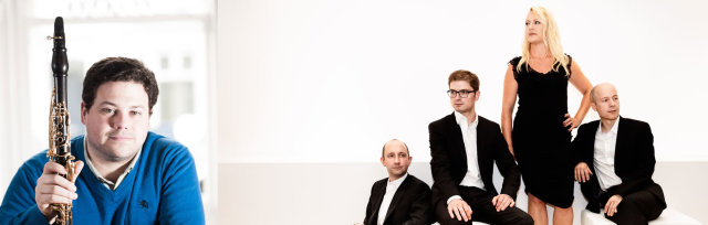 Sunday Concert: Peter Cigleris & Tippett Quartet