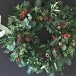Christmas Wreath Workshop and Lunch - Tower Barn image