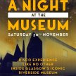 One night at the Museum SOLD OUT - 100 tickets on the door from 7pm image