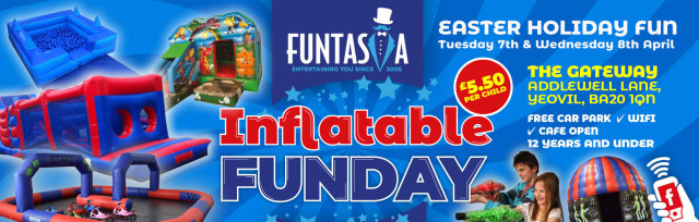 Funtasia Inflatable Fun Day