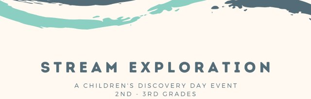 Stream Exploration PM for 2nd - 3rd Grades