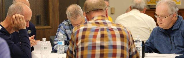 Senior Men Legacy of Faith Retreat/Workshop
