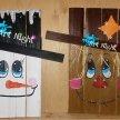 Paint Your Pallet: Scarecrow or Snowman image