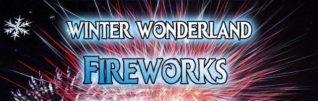 Christmas Fireworks Spectacular Thursday 13th Dec 8pm