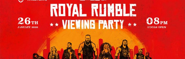 Leeds Royal Rumble 2020 Viewing Party