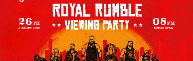 Cardiff Royal Rumble 2020 Viewing Party