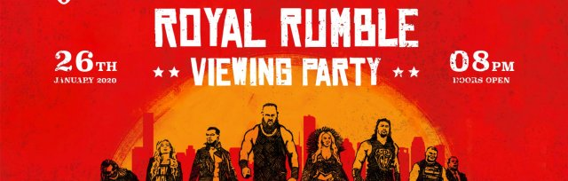 Brighton Royal Rumble 2020 Viewing Party