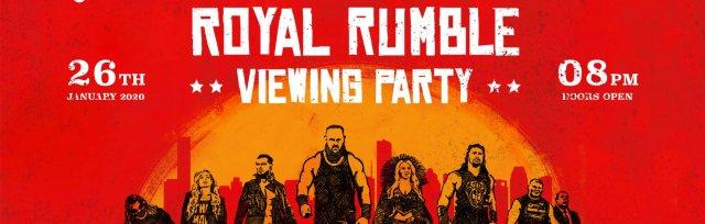 Hull Royal Rumble 2020 Viewing Party
