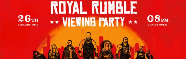 Manchester Royal Rumble 2020 Viewing Party