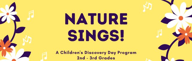 Nature Sings! PM for 2nd - 3rd Grades