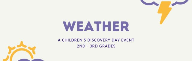 Weather PM for 2nd - 3rd Grades