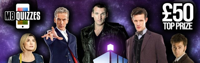 The Doctor Who Live Virtual Quiz