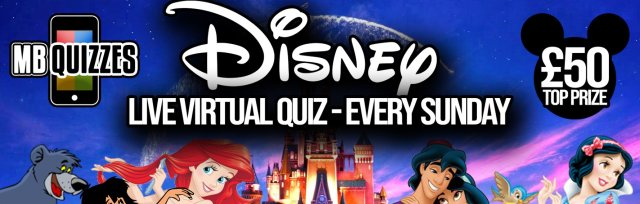 Disney Live Virtual Quiz