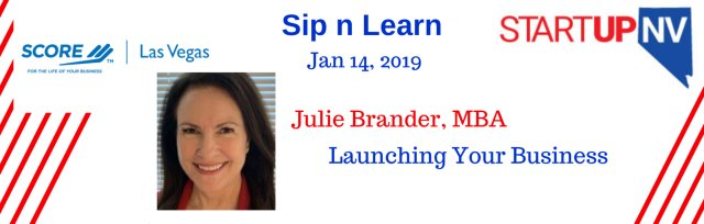 Sip n Learn with Julie Brander LV
