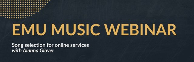 Emu Music Webinar: Song selection for online services