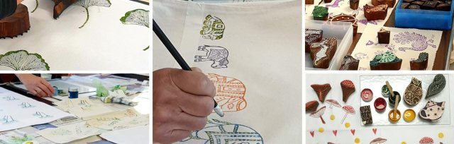 Indian Block Printing with Nigel Ginley - £74