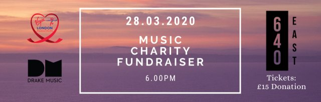 Music Charity Fundraiser - London Marathon 2020
