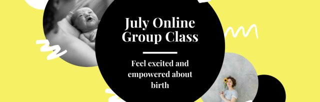 The Yorkshire Hypnobirthing School Online Group Class - July 2020